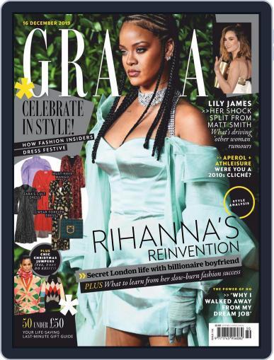 Grazia (Digital) December 16th, 2019 Issue Cover