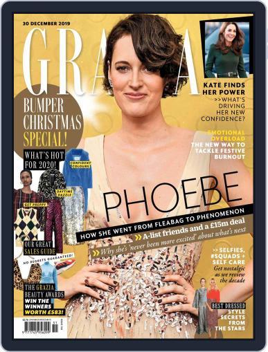 Grazia (Digital) December 30th, 2019 Issue Cover
