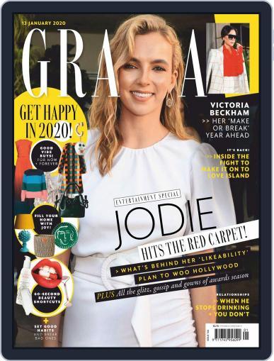 Grazia (Digital) January 13th, 2020 Issue Cover