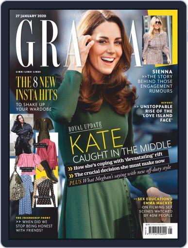 Grazia (Digital) January 27th, 2020 Issue Cover