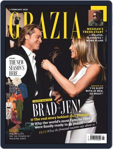 Grazia February 3rd, 2020 Digital Back Issue Cover
