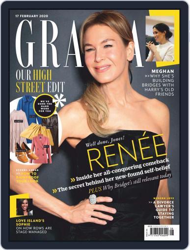 Grazia (Digital) February 17th, 2020 Issue Cover
