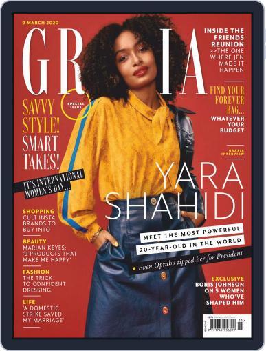 Grazia (Digital) March 9th, 2020 Issue Cover