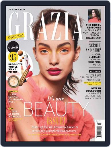Grazia (Digital) March 30th, 2020 Issue Cover