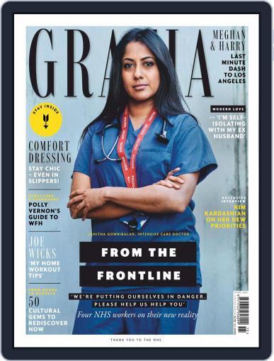 Grazia (Digital) April 6th, 2020 Issue Cover
