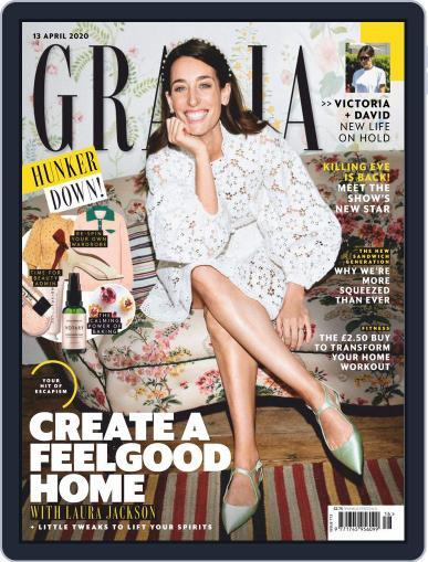 Grazia (Digital) April 13th, 2020 Issue Cover