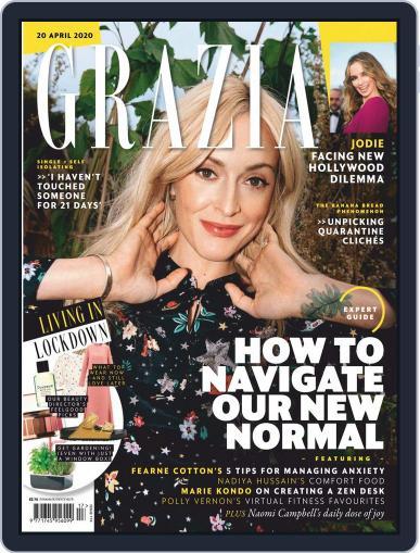 Grazia (Digital) April 20th, 2020 Issue Cover