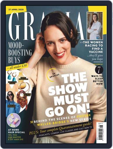 Grazia April 27th, 2020 Digital Back Issue Cover