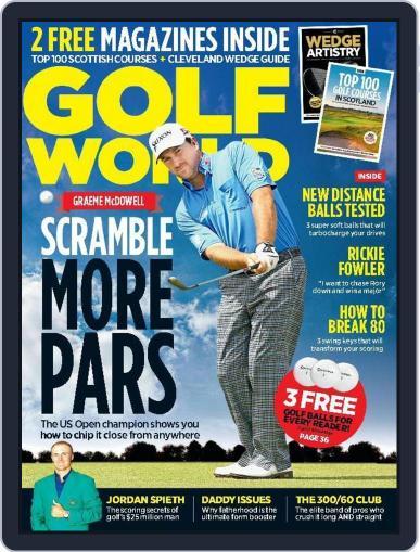 Golf World United Kingdom (Digital) July 1st, 2015 Issue Cover