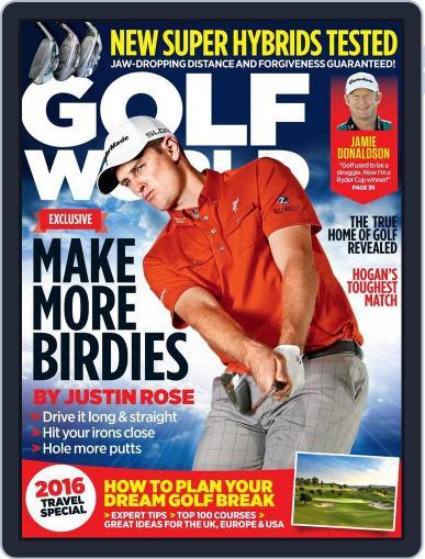 Golf World United Kingdom February 11th, 2016 Digital Back Issue Cover