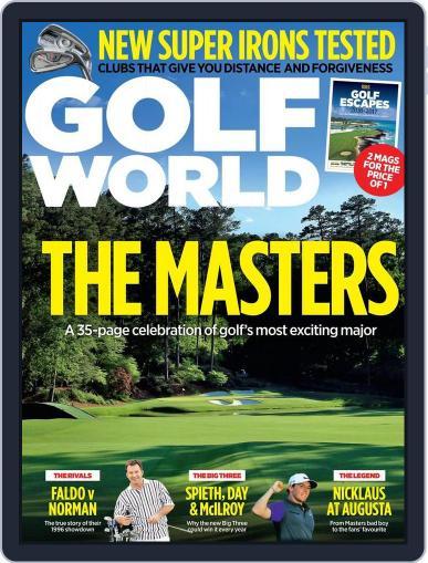 Golf World United Kingdom March 10th, 2016 Digital Back Issue Cover
