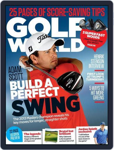 Golf World United Kingdom June 2nd, 2016 Digital Back Issue Cover