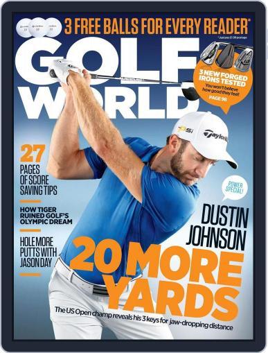 Golf World United Kingdom (Digital) July 27th, 2016 Issue Cover