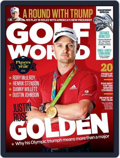 Golf World United Kingdom February 1st, 2017 Digital Back Issue Cover