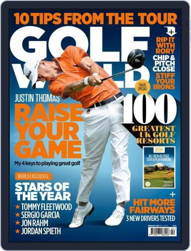 Golf World United Kingdom February 1st, 2018 Digital Back Issue Cover