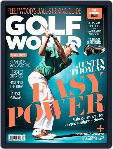 Golf World United Kingdom (Digital) September 1st, 2018 Issue Cover