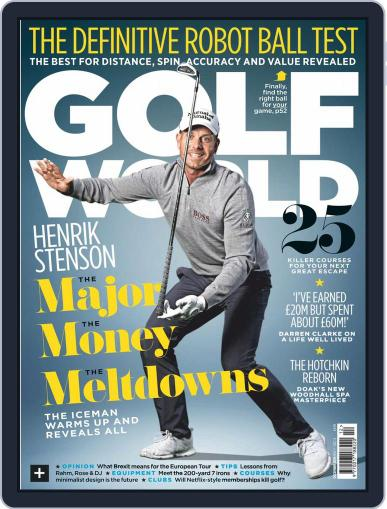 Golf World United Kingdom December 1st, 2019 Digital Back Issue Cover