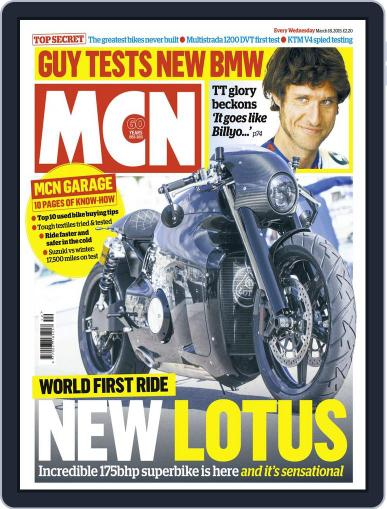 MCN (Digital) March 18th, 2015 Issue Cover