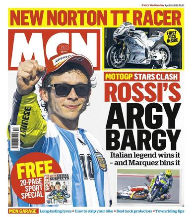 MCN (Digital) April 21st, 2015 Issue Cover