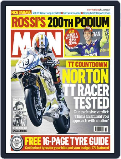MCN (Digital) May 6th, 2015 Issue Cover