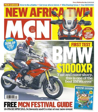 MCN (Digital) May 12th, 2015 Issue Cover