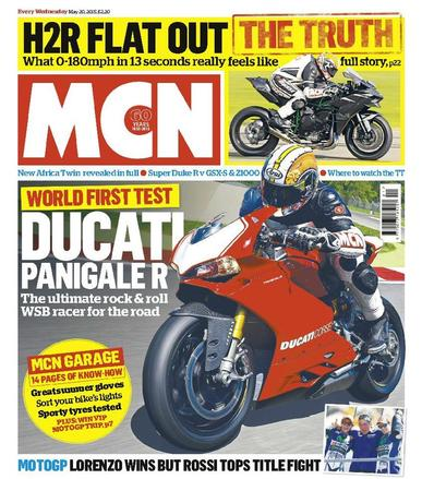 MCN (Digital) May 19th, 2015 Issue Cover