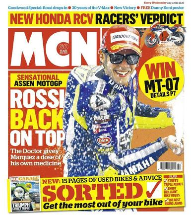 MCN (Digital) June 30th, 2015 Issue Cover