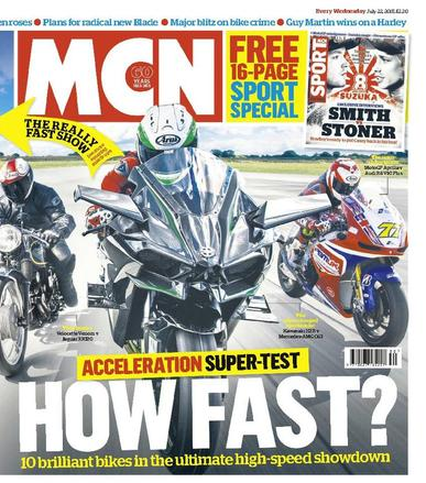 MCN (Digital) July 21st, 2015 Issue Cover