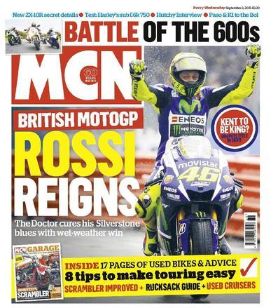 MCN (Digital) September 1st, 2015 Issue Cover