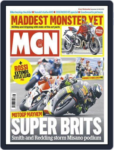 MCN (Digital) September 15th, 2015 Issue Cover