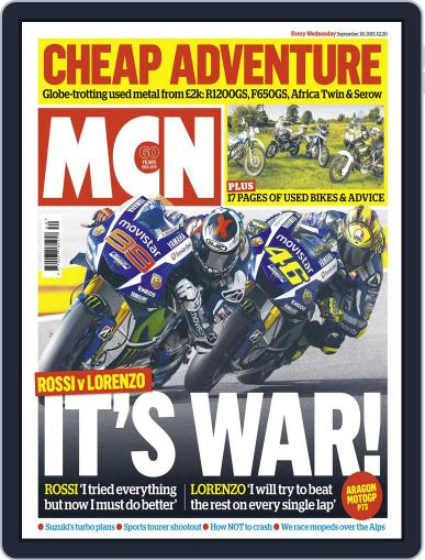 MCN (Digital) September 29th, 2015 Issue Cover