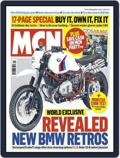 MCN October 7th, 2015 Digital Back Issue Cover