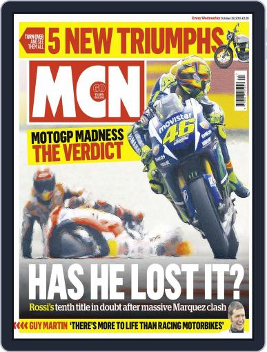 MCN (Digital) October 27th, 2015 Issue Cover