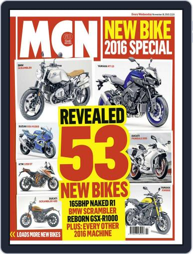 MCN November 17th, 2015 Digital Back Issue Cover