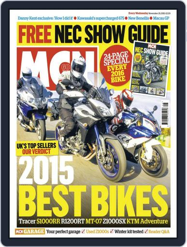 MCN (Digital) November 24th, 2015 Issue Cover