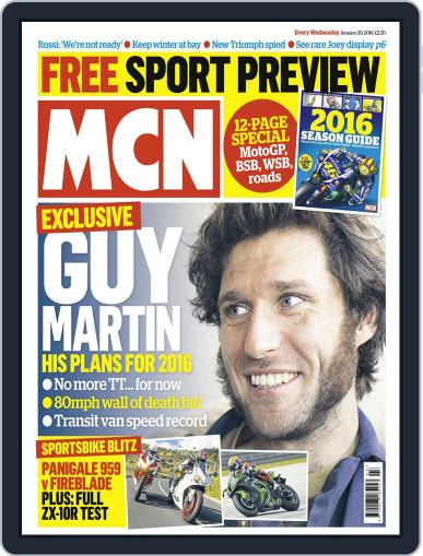MCN (Digital) January 20th, 2016 Issue Cover