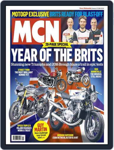 MCN January 27th, 2016 Digital Back Issue Cover