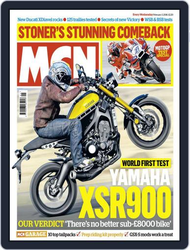 MCN (Digital) February 3rd, 2016 Issue Cover