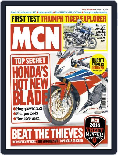 MCN (Digital) February 17th, 2016 Issue Cover