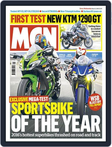MCN (Digital) March 2nd, 2016 Issue Cover