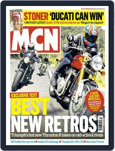 MCN March 30th, 2016 Digital Back Issue Cover