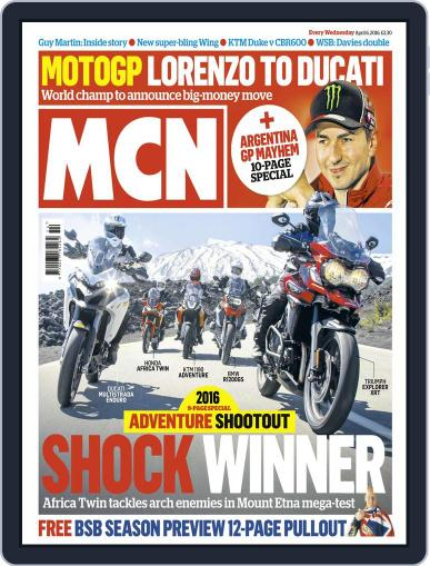 MCN (Digital) April 6th, 2016 Issue Cover