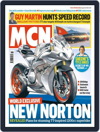 MCN (Digital) August 10th, 2016 Issue Cover