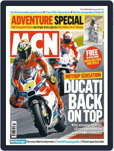 MCN (Digital) August 17th, 2016 Issue Cover