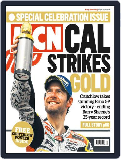 MCN (Digital) August 24th, 2016 Issue Cover