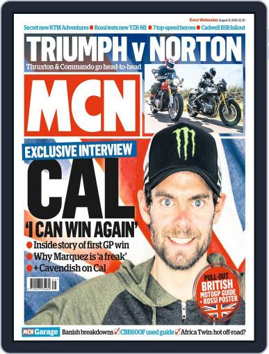 MCN (Digital) August 31st, 2016 Issue Cover