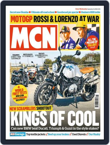 MCN September 14th, 2016 Digital Back Issue Cover