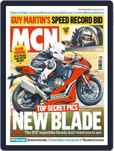 MCN (Digital) September 21st, 2016 Issue Cover