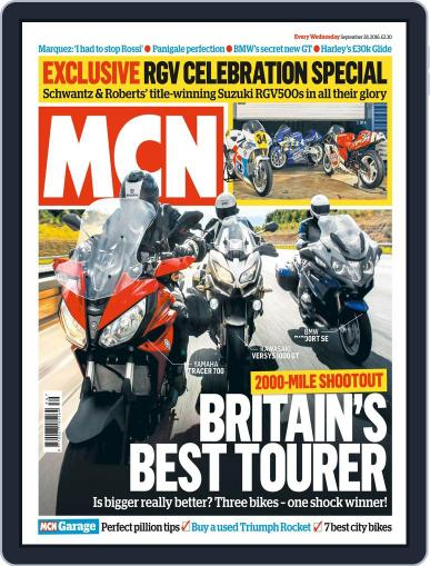 MCN (Digital) September 28th, 2016 Issue Cover