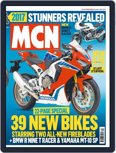 MCN October 5th, 2016 Digital Back Issue Cover